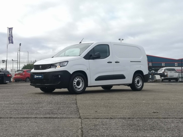 Peugeot Partner Panel Van 2019 MD19VMZ